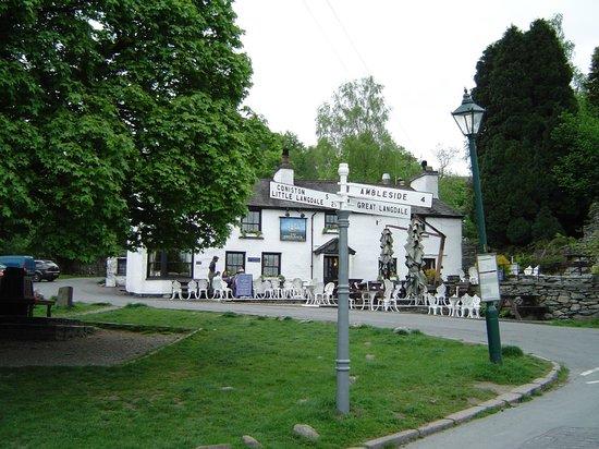 The Britannia Inn: The good old Britannia, Elterwater.