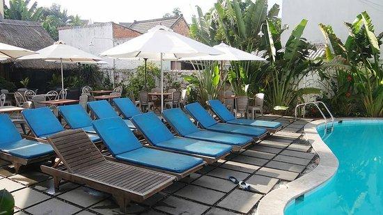 Sunflower Hotel : Sunflower swimming pool