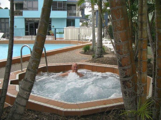 Aqualine Apartments: enjoying a spa