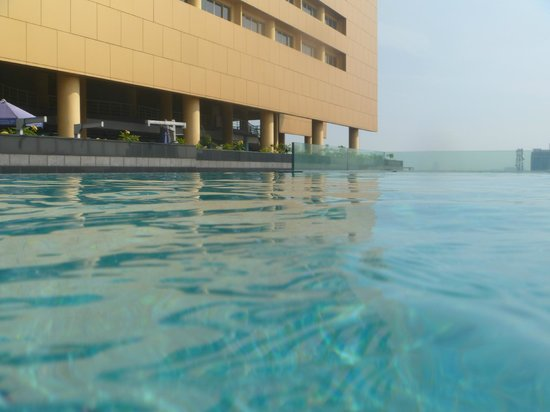 Merlynn Park Hotel: View from pool
