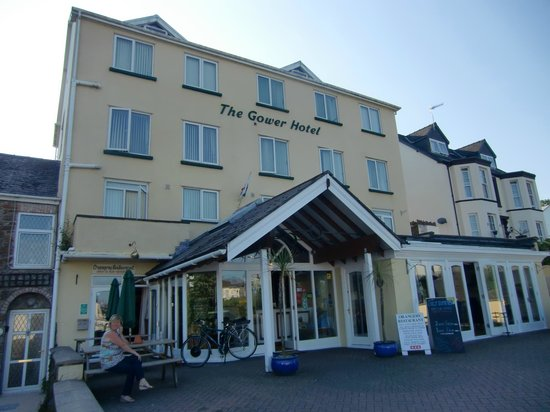 The Gower Hotel and Orangery Restaurant : Hotelaussenansicht