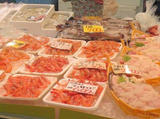 Izumisano, Japón: 新鮮な魚介類