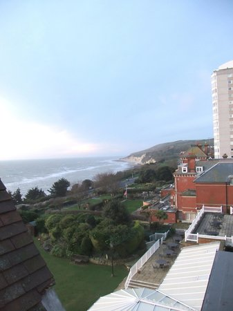 Hydro Hotel Eastbourne: Room view Xmas 2012