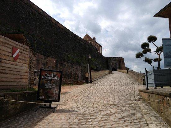Citadel of Bitche : Entrée de la Citadelle