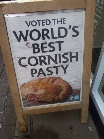 The Cornish Bakery: I'll be the judge of that...