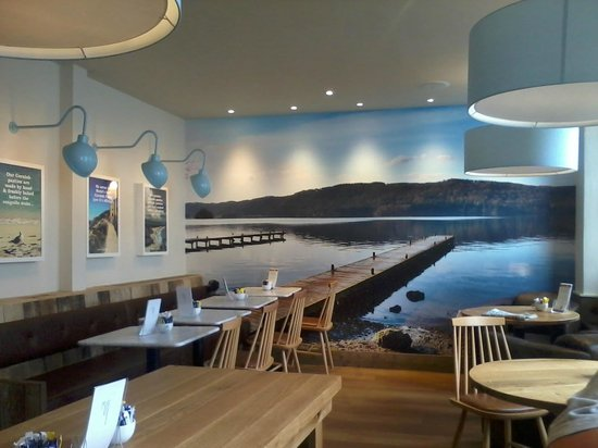 The Cornish Bakery: Lovely mural