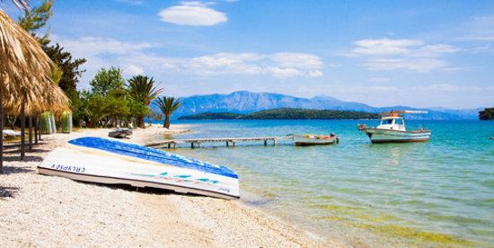 Avra Beach Hotel: Beach