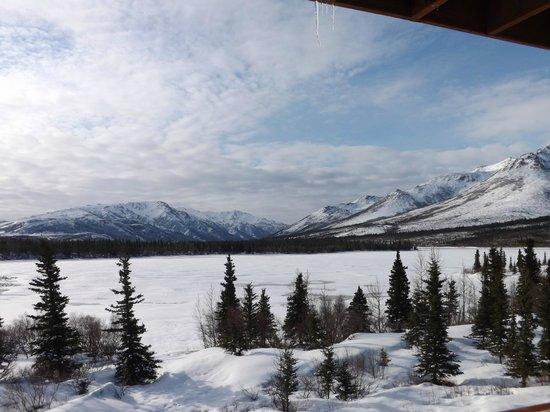 Denali Lakeview Inn : That amazing view!