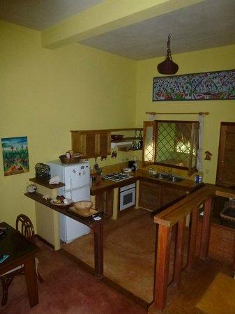 Villa Caribena: The kitchen
