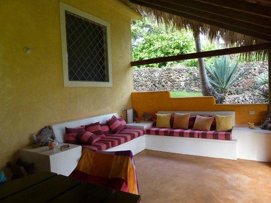 Villa Caribena : The backporch-my favorite spot in the house!