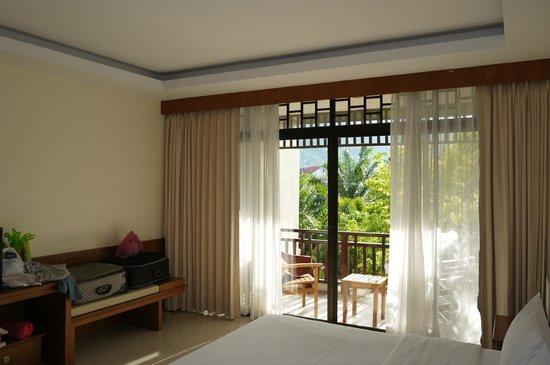 เลอ เมอรายา รีสอร์ท: Балкон