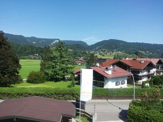 Das Freiberg Romantik Hotel: Blick vom Zimmer