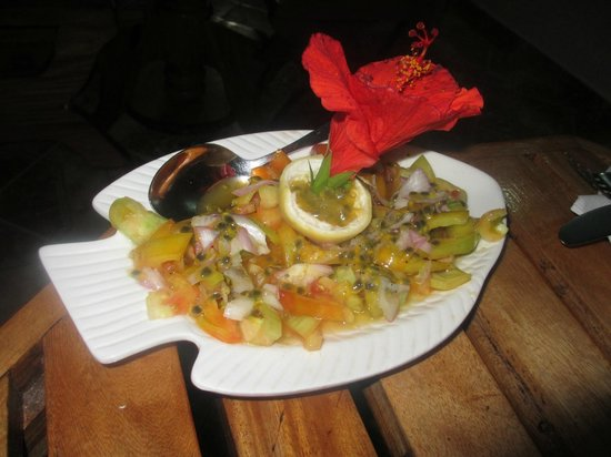 Omusee Guesthouse: Fruchtsalat