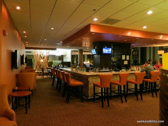 Sheraton Charlotte Airport Hotel: Newly renovated lobby bar