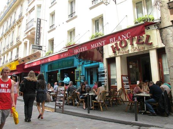 Hotel du Mont Blanc: Restaurant