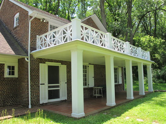 Brandywine River Museum of Art: NC Wyeth home - no photos allowed inside