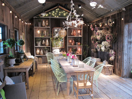 Terrain Garden Cafe: Store Display Furnishings
