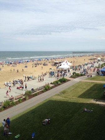 Comfort Inn & Suites Oceanfront : View
