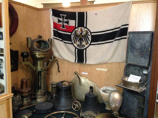 Stromness Museum: Part of the Imperial German Navy display