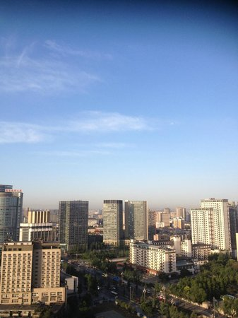 Fraser Suites Chengdu: Room with a view