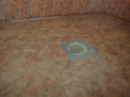 Paradise Inn & Suites: verstopfte Dusche