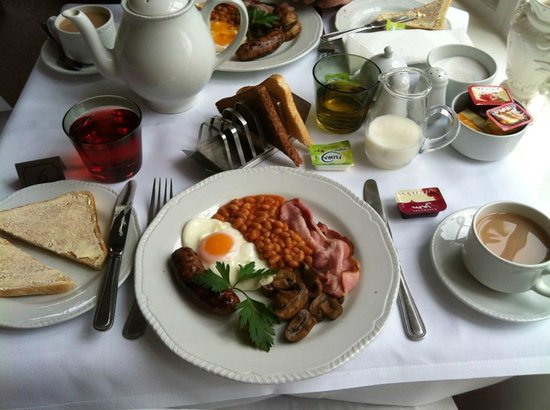 Haytor Hotel: The yummy breakfast.