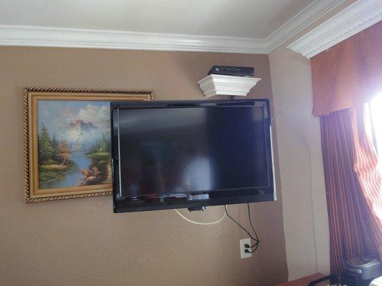 Paradise Inn & Suites: Fernseher, Entfernung erheblich