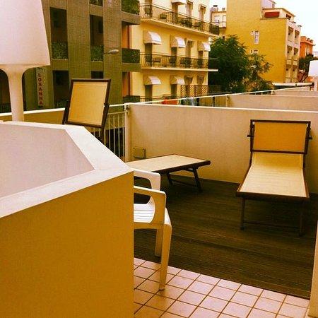 Hotel Villa Marina : eccovi il balcone