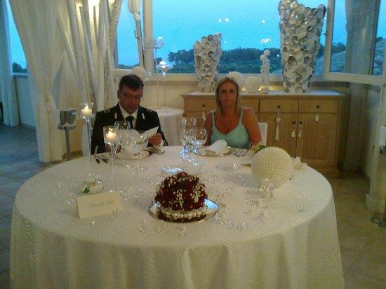 Hotel Club Baia del Porto: Il tavolo degli sposi
