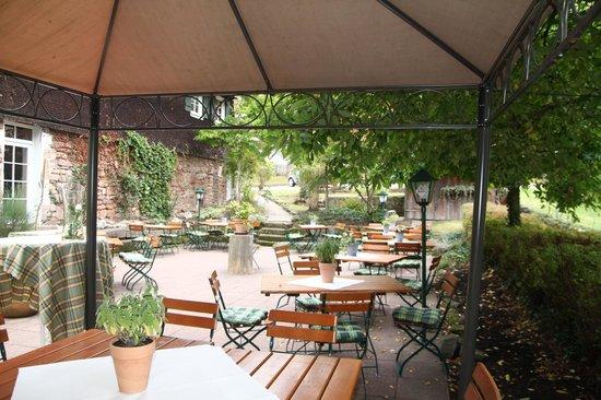 Gutshof - Hotel Waldknechtshof : Terrasse