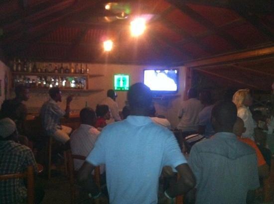Ti Boukan Bar & Grill : NBA finals at Ti Boukan