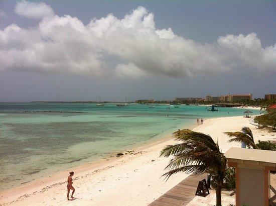 View from room 924 picture of divi aruba phoenix beach resort palm eagle beach tripadvisor - Divi aruba beach resort ...