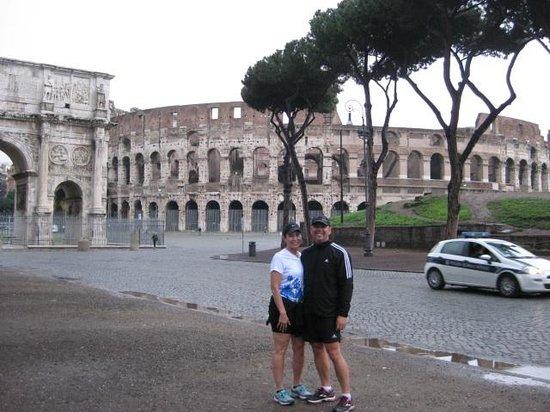 NCC Airport: Jeff and Karen in Rome