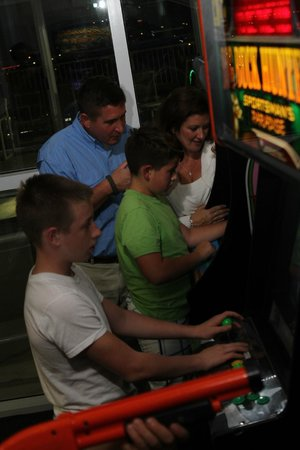 Whispering Pines Condominiums: Family Arcade in Indoor Pool Complex