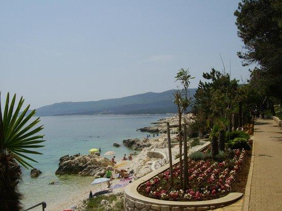 Albona Hotel & Residence: spiaggia