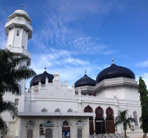 Baiturrahman Grand Mosque : Baiturrahman