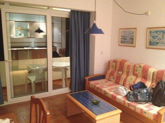 Hotel Apartamentos Portu Saler: Soggiorno