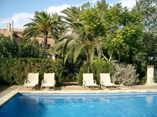 Finca Raims: Garten und  Pool Dorfhotel