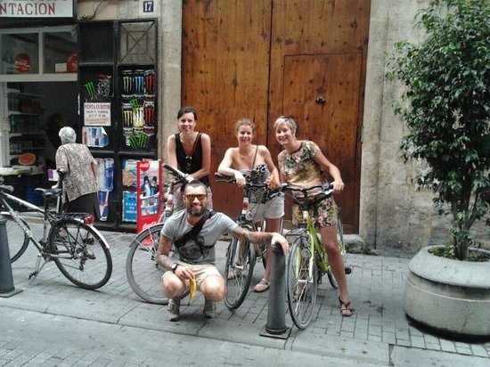 Thanks to our guide Pier from Passionbike!