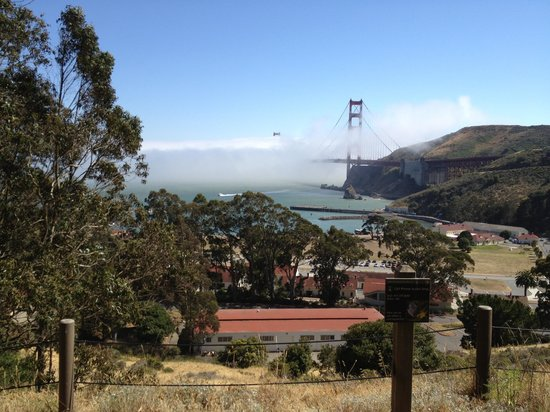 Cavallo Point: On a hike above the hotel