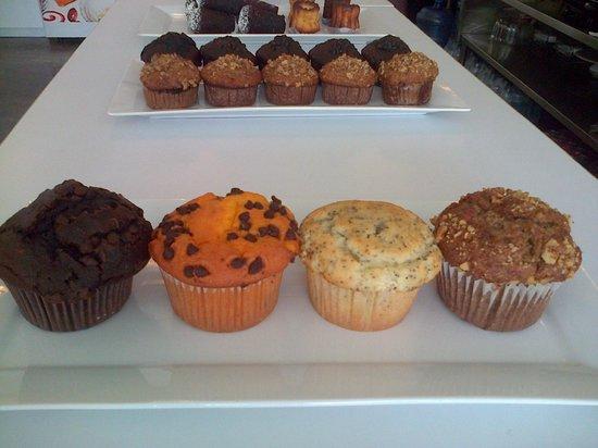 Brioche Bistro-Bakery-Coffee-Bar: Assorted Muffins