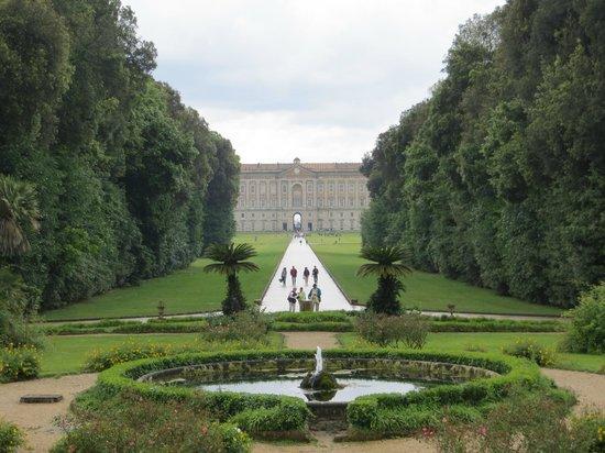 Reggia di Caserta: View from the back garden