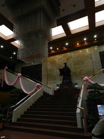 Dynasty Hotel : Hall d'accueil