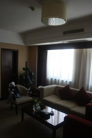 Grand Metro Hotel Woonkamer Living Room Nanjing