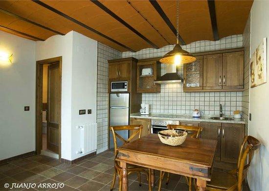 Casa La Fonte: cocina