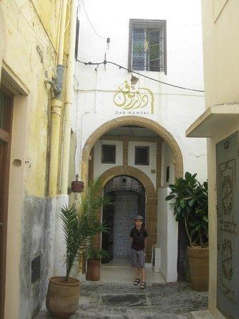 Riad Dar Nawfal: vue de l'entrée