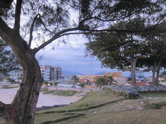Pousada Santa Monica: view from local park in saquerema