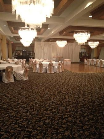 Holiday Inn Express Chicago O'Hare: penthouse ballroom for my wedding