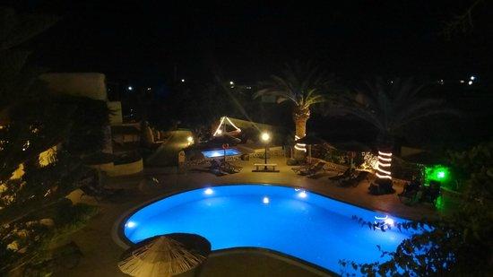 Smaragdi Hotel: view off the balcony