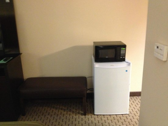 Holiday Inn Express Hotel & Suites Opelika Auburn: Fridge and Microwave available upon request